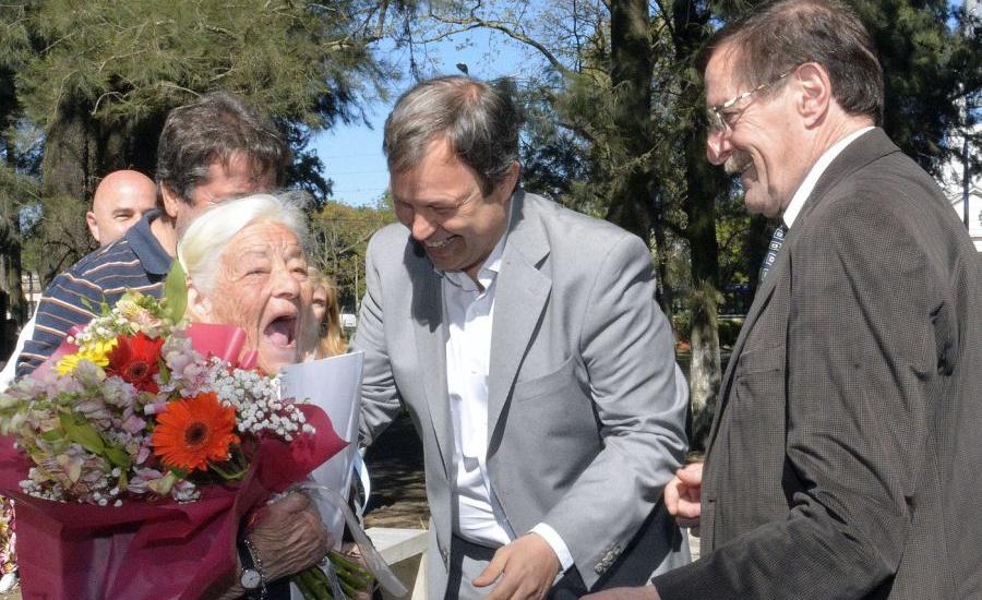 Junto a vecinos de Rivadavia, Cascallares  celebró el aniversario de esa localidad