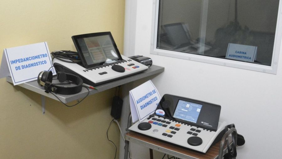 Cascallares inauguró el Centro Fonoaudiológico en Vías Respiratorias Municipal