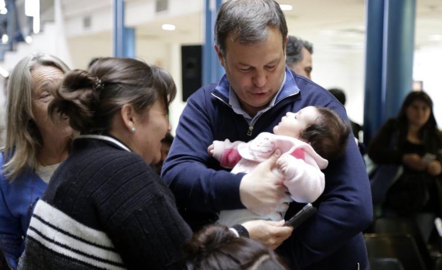 """Cascallares: """"Llevamos adelante un amplio plan de salud para mejorar la sobre vida materno infantil"""""""