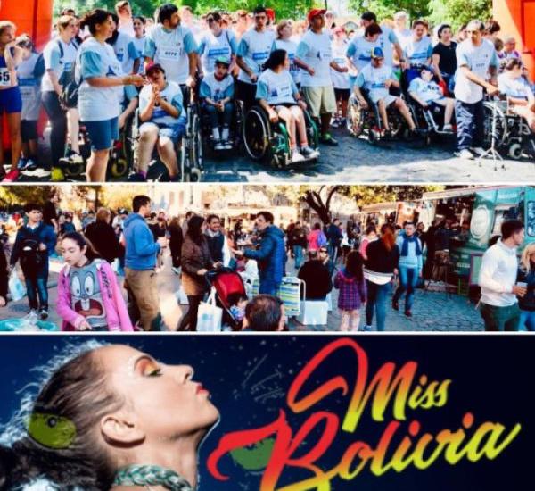 Este fin de semana, foods trucks, carrera por todos y Miss Bolivia