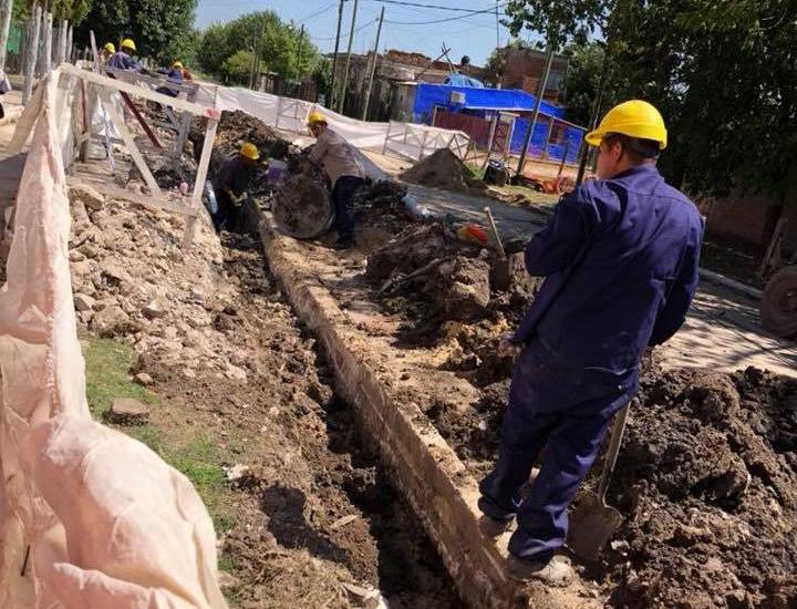 El Municipio instala una planta ecológica de tratamiento cloacal en escuela de Glew