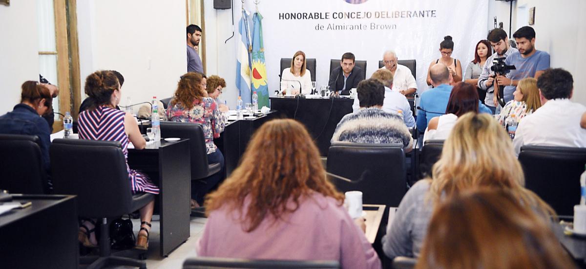 EL HCD SE REUNIÓ EN EXTRAORDINARIAS