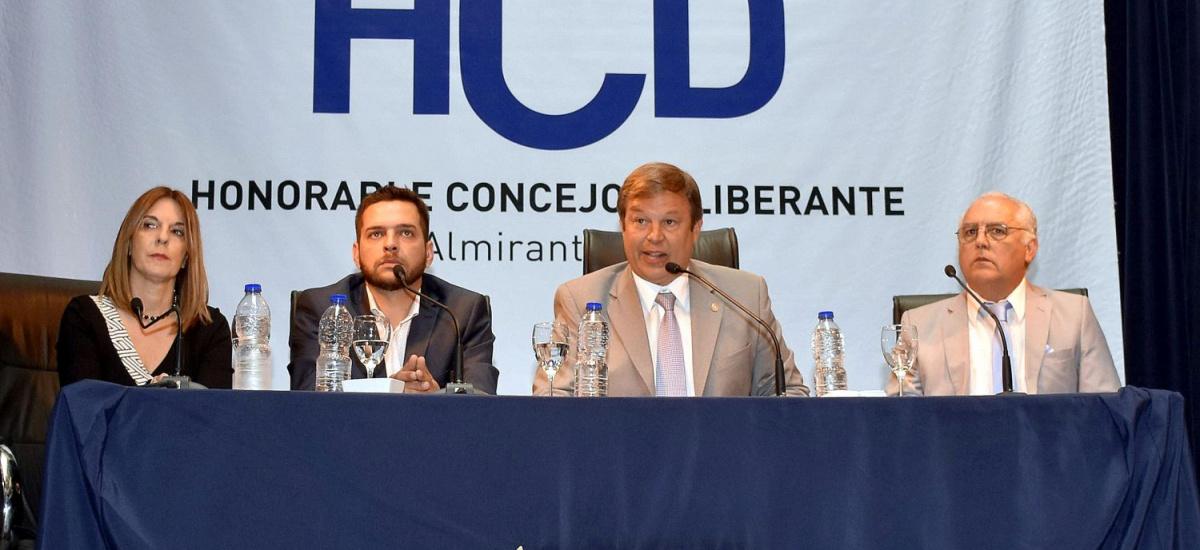 Cascallares abrió las Sesiones Ordinarias del Concejo Deliberante de Brown