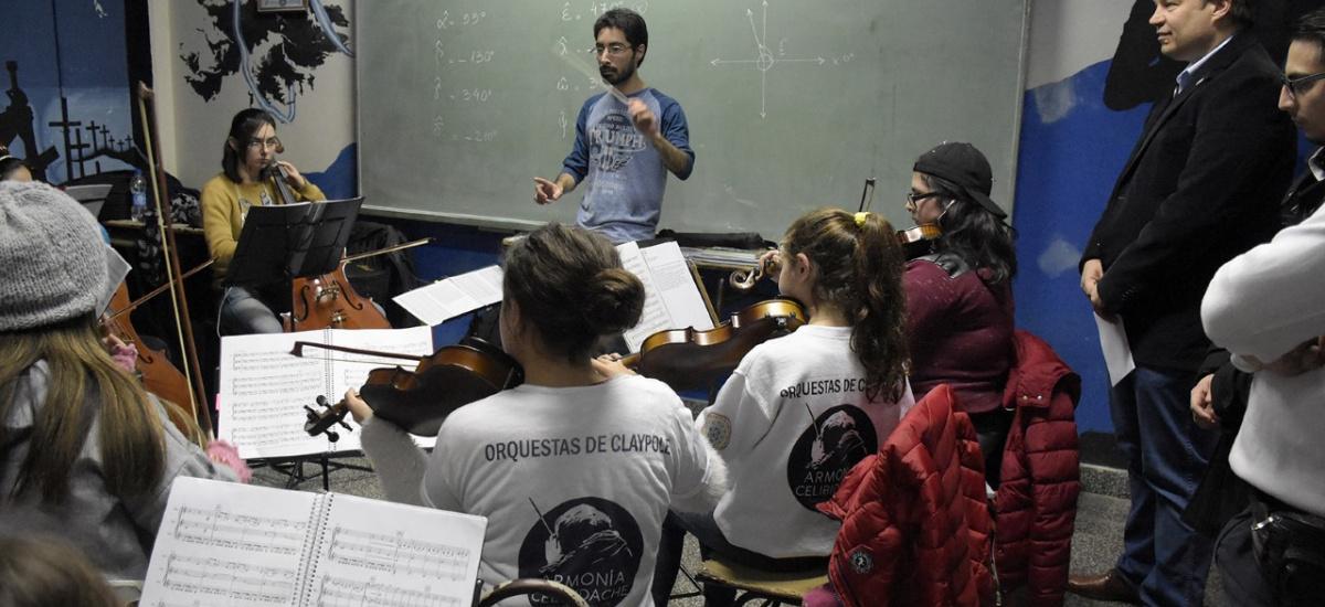 Orquestas de Claypole contarán con un espacio propio cedido por el municipio