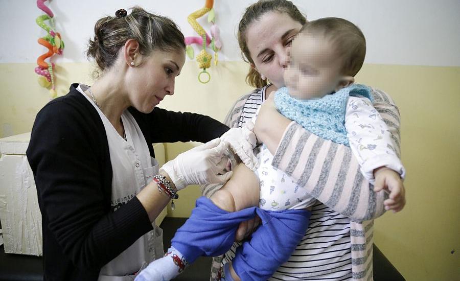 El municipio de Alte brown convoca a la vacunación de bebés de entre 6 y 11 meses contra el sarampión