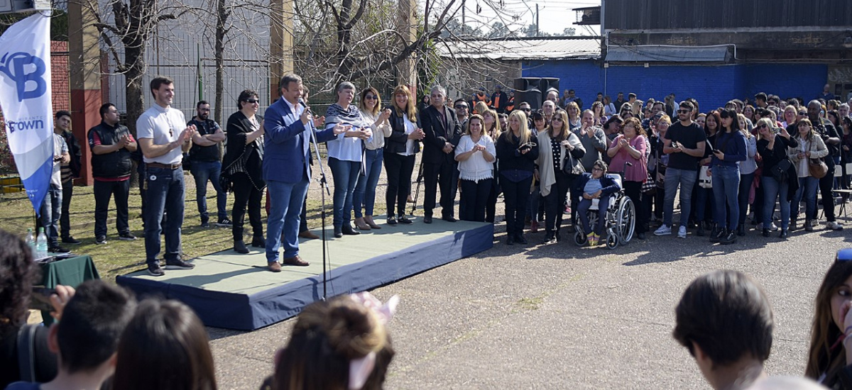 Cascallares encabezó los festejos por el aniversario de San Francisco de Asís