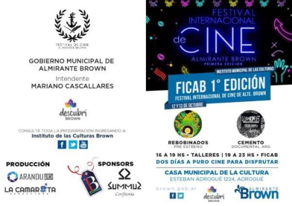 Llega el primer Festival Internacional de Cine a Almirante Brown