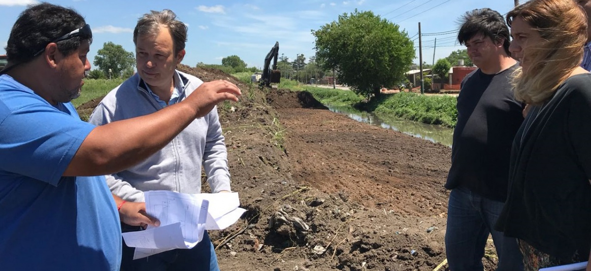 El Municipio avanza con importantes obras hidráulicas y limpieza de arroyos y bocas de tormenta