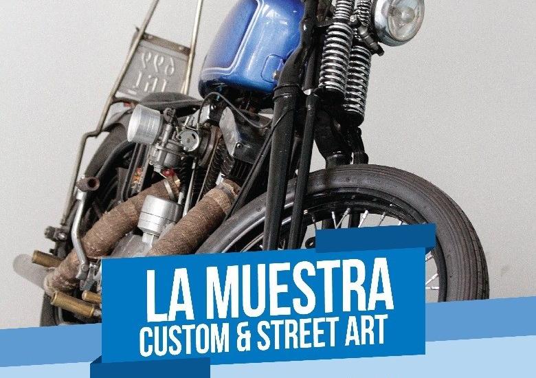 Llega a Brown la muestra Custom & Street Art de motos y bicis personalizadas