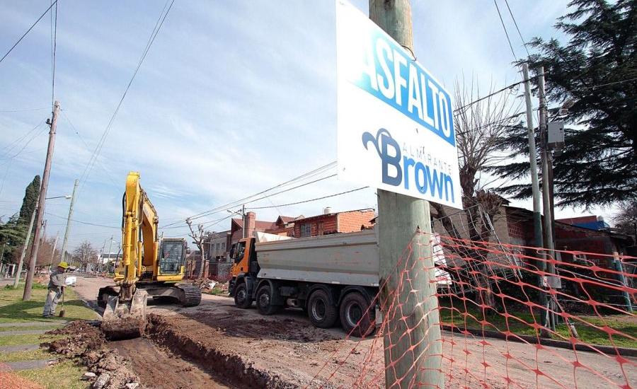 Cascallares e Insaurralde recorrieron obras conjuntas en el corredor Lomas-Brown
