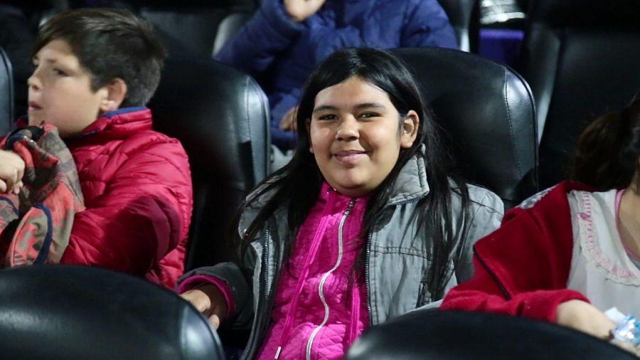 Alumnos de Don Orione cumplieron el sueño de ir al cine por primera vez