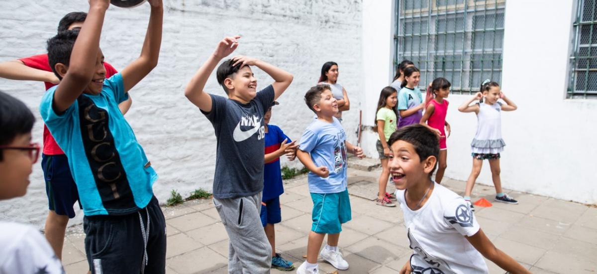 Más de 7 mil niños de Alte. Brown disfrutan de las Escuelas Abiertas de Verano