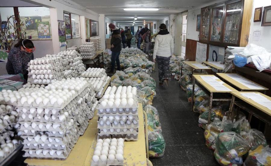 El municipio de Alte Brown ya repartió 3 mil toneladas de alimentos en escuelas
