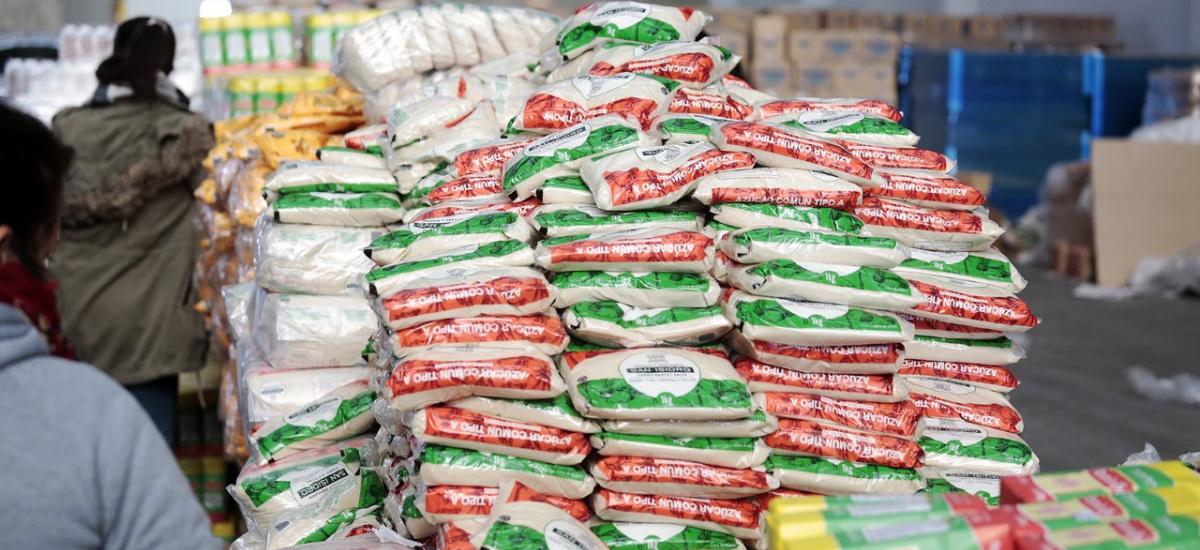 El Municipio incrementó los módulos de alimentos y sumó puntos de entrega en las delegaciones