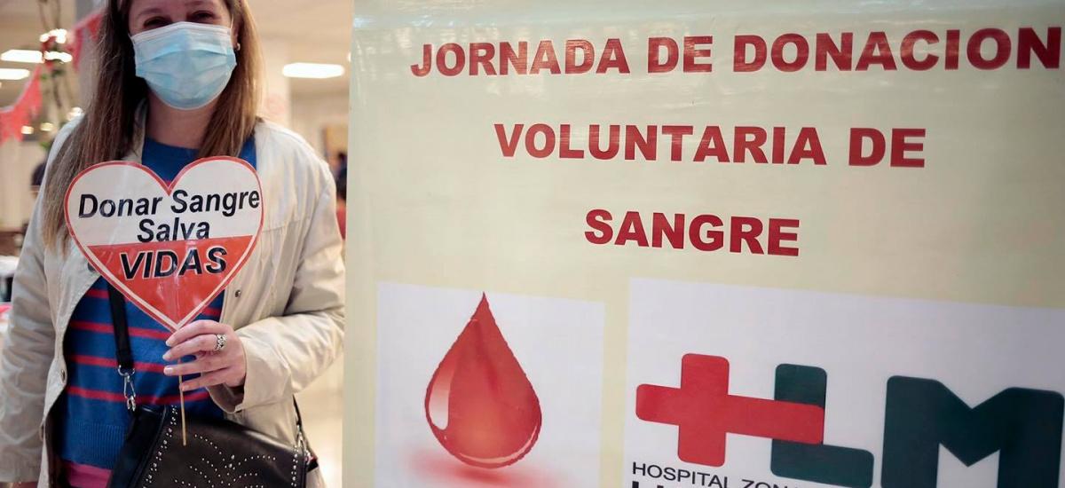 El Municipio extiende el programa de donación de sangre en clubes