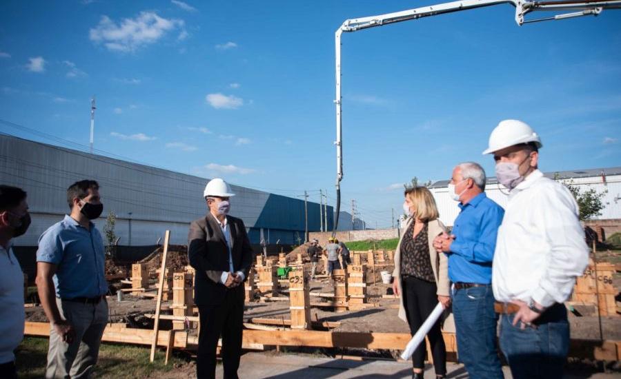 El Municipio construye una nueva escuela técnica en el parque industrial de Burzaco