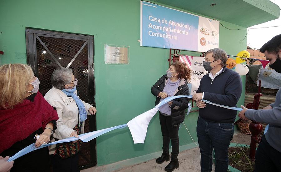 El Municipio y la Sedronar inauguraron una casa comunitaria en Rafael Calzada