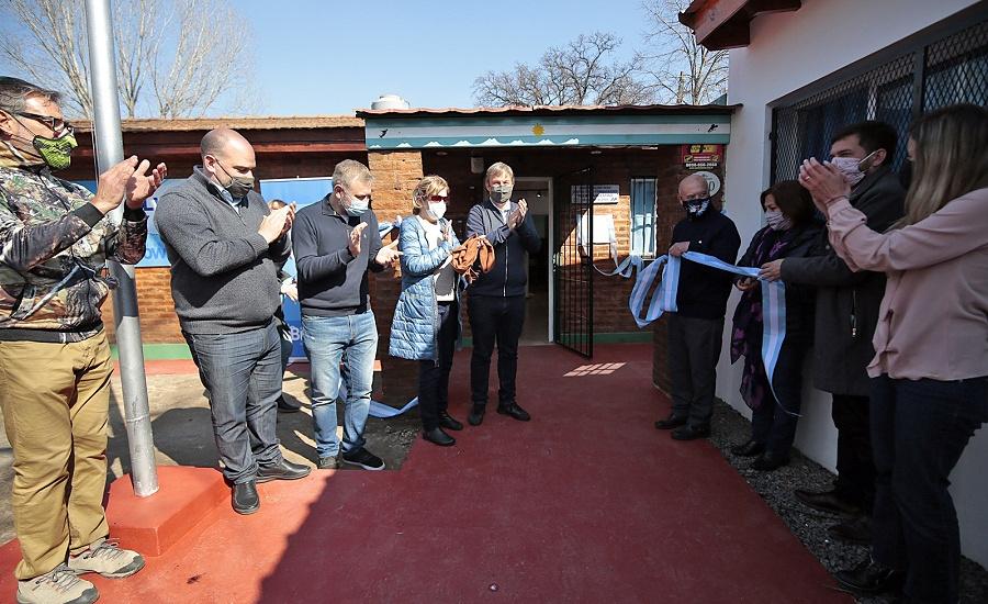"""Junto a los ex combatientes, Cascallares inauguró el Museo """"Malvinas, Soberanía, Memoria"""""""