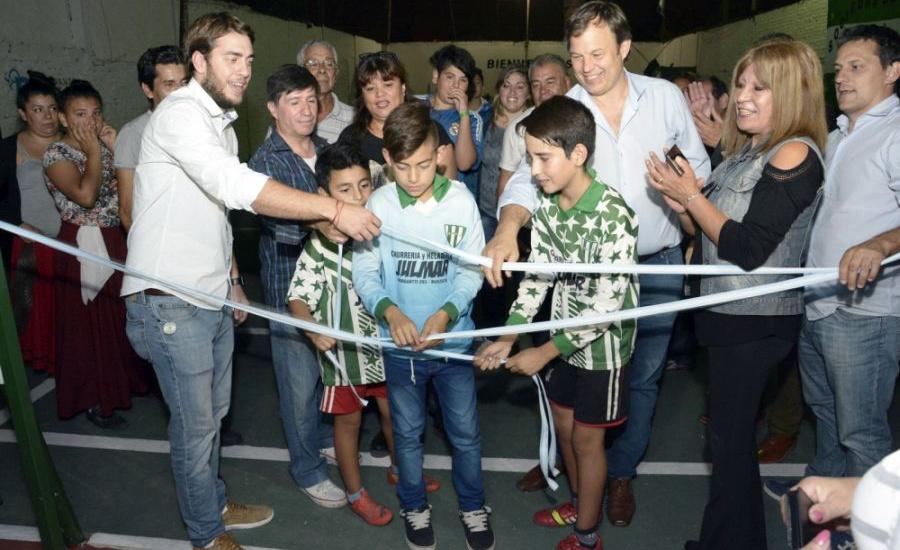Obras y mejoras en la sociedad de fomento primera junta de Burzaco