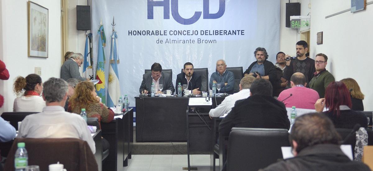 El HCD respaldó la compra de maquinaria