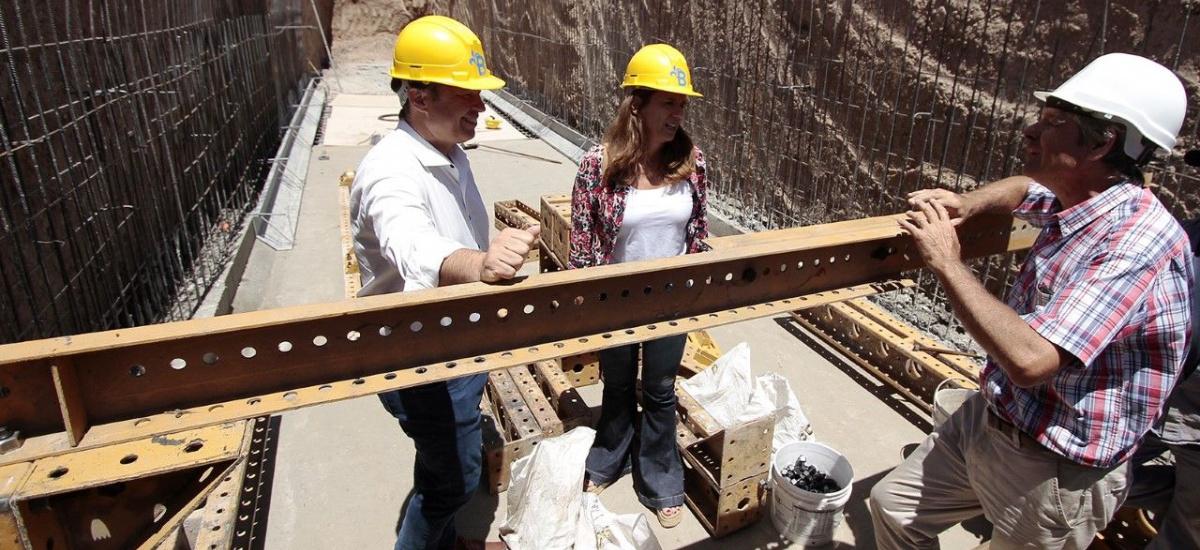 Avanza la histórica obra hidráulica de desagües pluviales en Corimayo