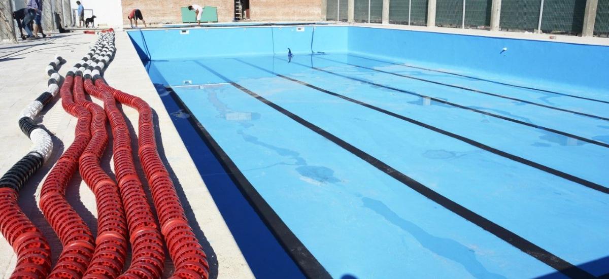 Se inaugura en Ministro Rivadavia el natatorio municipal de Alte. Brown