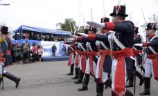 Con fervor patrio y espíritu tradicionalista Alte Brown festejó el día de la Independencia