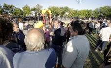Cascallares inauguró la obra de puesta en valor de la Plaza CGT de San José