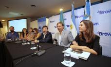 Junto a Arroyo y Raverta, Cascallares lanzó el Consejo de Nutrición y Alimentación de Almirante Brown