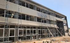 La obra del Instituto Nº 41 ya supera el 80 por ciento y se inaugura en marzo
