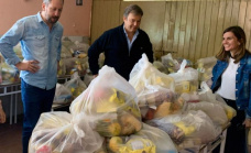 En un mes el municipio repartió más de 800 toneladas de alimentos en las escuelas