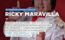Fiesta de la Primavera en Glew: artistas locales, concurso de manchas y Ricky Maravilla